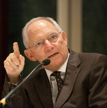 Event: Minister Schäuble
