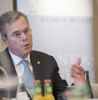 Event photography: Jeb Bush in Berlin