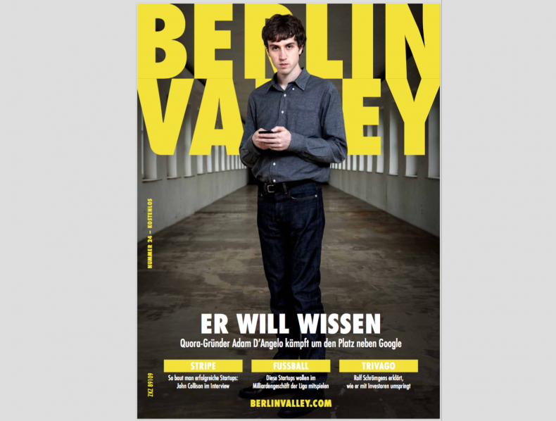 Titel Berlin Valley Magazine