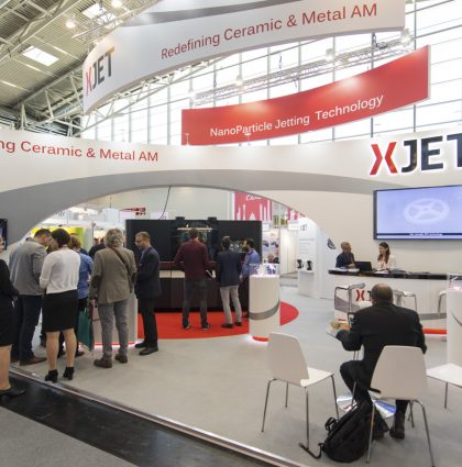 Event Video at Munich fair for Xjet